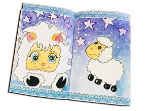 Рисуем овечек и записываем свой сон. Ярмарка Мастеров - ручная работа, handmade.