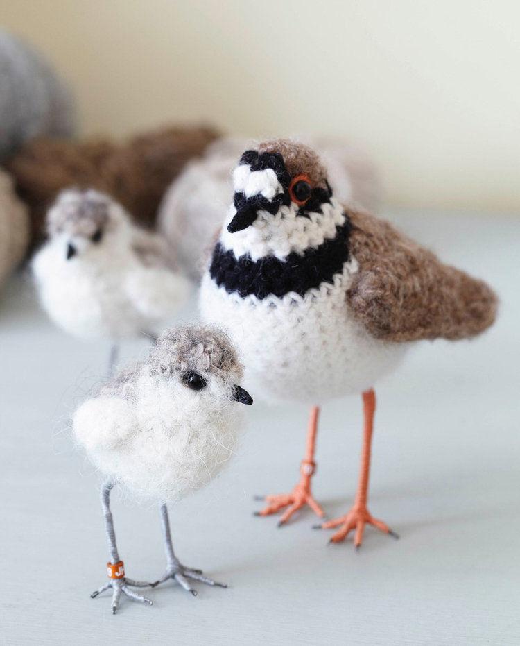Вот-вот взлетят: реалистичные вязаные птицы Jose Heroys, фото № 11