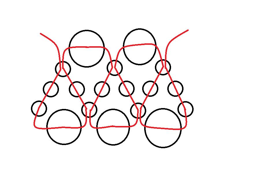Как сделать корону из бисера своими руками схемы 8