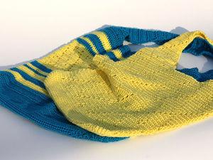 Хлопковая сумка - отличная замена пакетам. Ярмарка Мастеров - ручная работа, handmade.