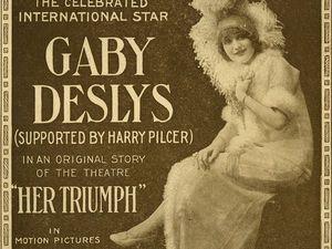 Gaby Deslys — звезда «Прекрасной эпохи». Ярмарка Мастеров - ручная работа, handmade.