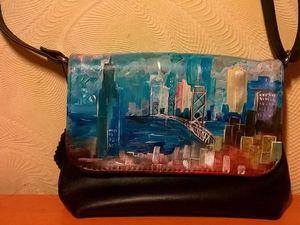 Скидка 20% на сумочки и рюкзак с росписью. Ярмарка Мастеров - ручная работа, handmade.