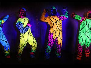 Светящиеся Костюмы. Роспись костюмов для светового шоу. Ярмарка Мастеров - ручная работа, handmade.