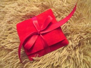 Делаем подарочную упаковку для украшений. Ярмарка Мастеров - ручная работа, handmade.