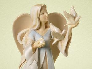 Милые ангелы керамиста Karen Hahn. Ярмарка Мастеров - ручная работа, handmade.