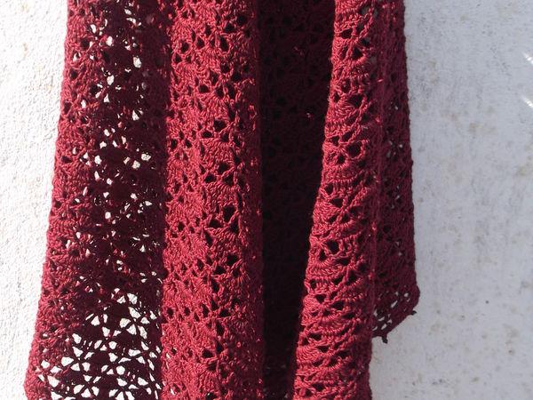 Скоро новинка.Летняя шаль из хлопка. | Ярмарка Мастеров - ручная работа, handmade
