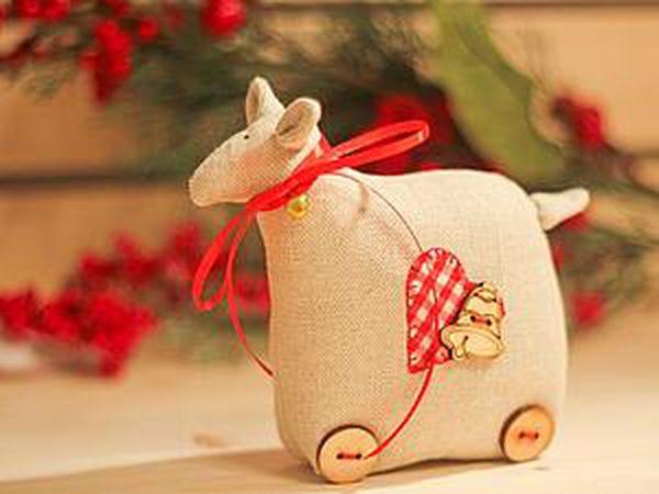 Handmade Tilda Sheep | Livemaster - handmade