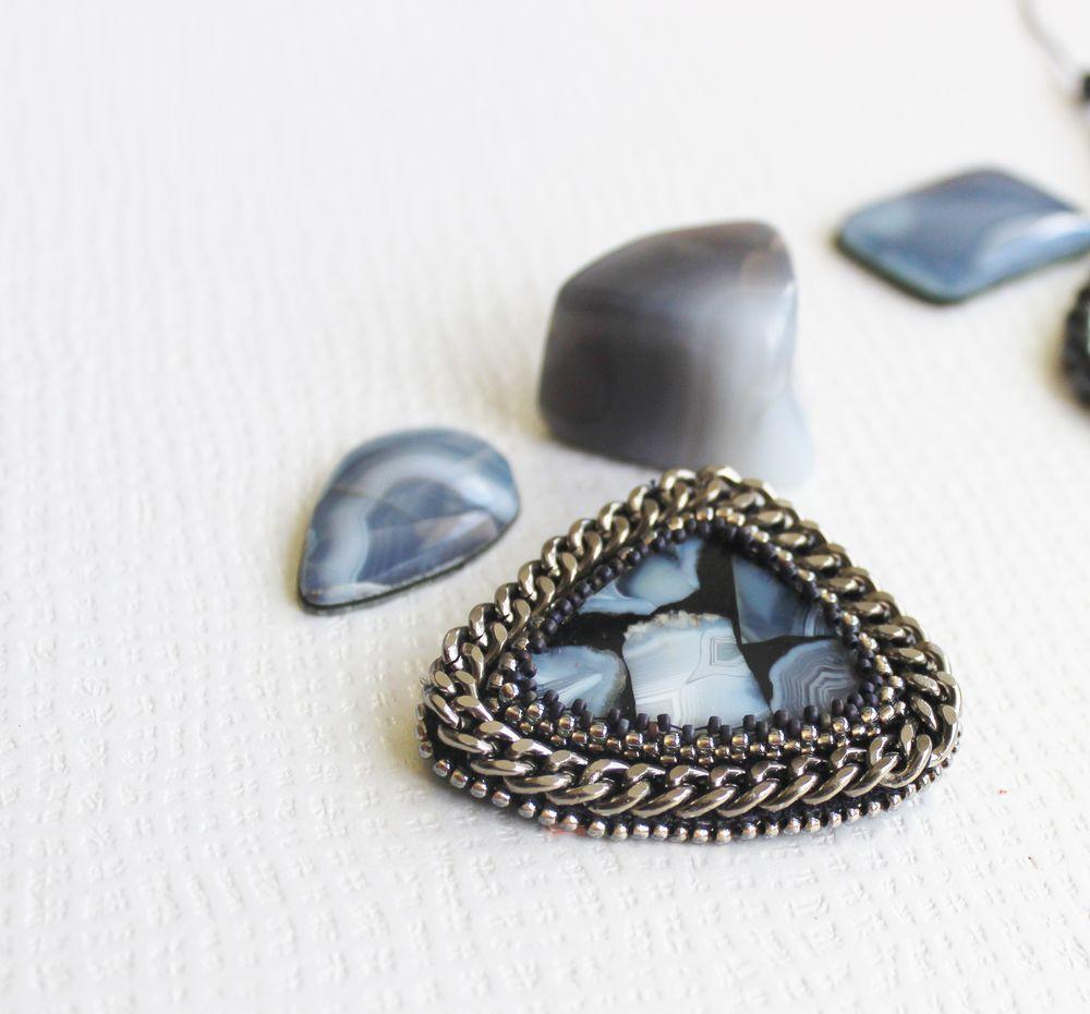 тиманский агат, натуральные камни