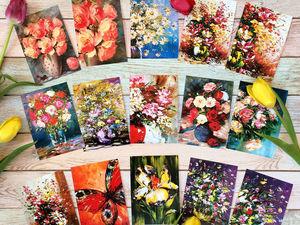 НОВЫЙ Розыгрыш Авторских почтовых открыток!. Ярмарка Мастеров - ручная работа, handmade.