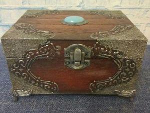 Антиаукцион на шкатулку для хранения часов. Ярмарка Мастеров - ручная работа, handmade.