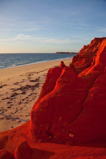 Red Ochre Cliffs at Cape Leveque, Western Australia