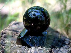 Шар морион 56 мм, Володарск-Волынский. Ярмарка Мастеров - ручная работа, handmade.