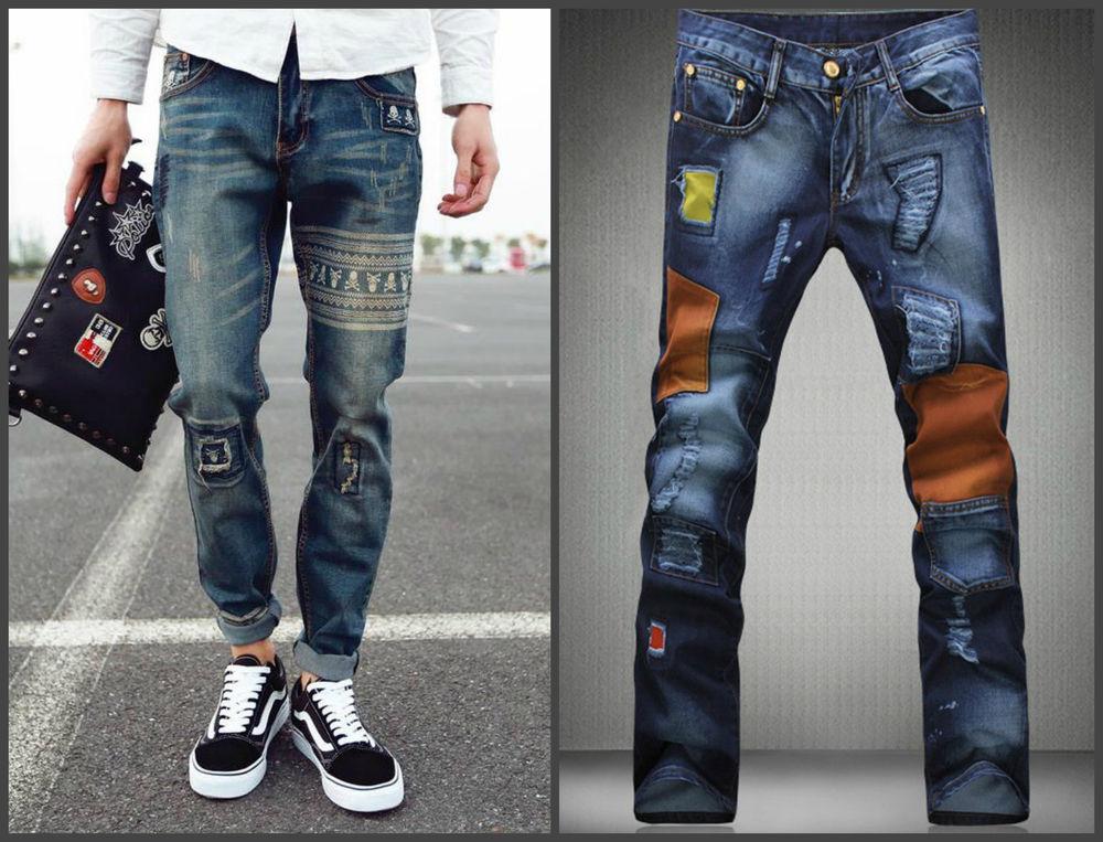 джинсовый стиль