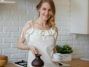 Завершен. Аукцион! Сорочка с пуговками из итальянского хлопка. Старт 1000 руб. Ярмарка Мастеров - ручная работа, handmade.
