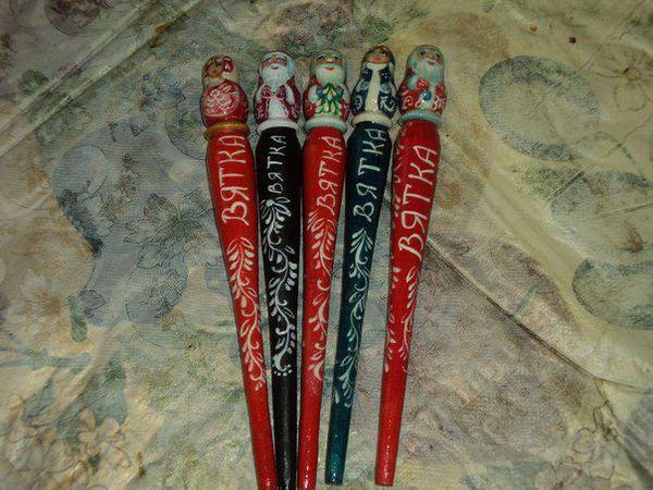 Новогодние ручки | Ярмарка Мастеров - ручная работа, handmade