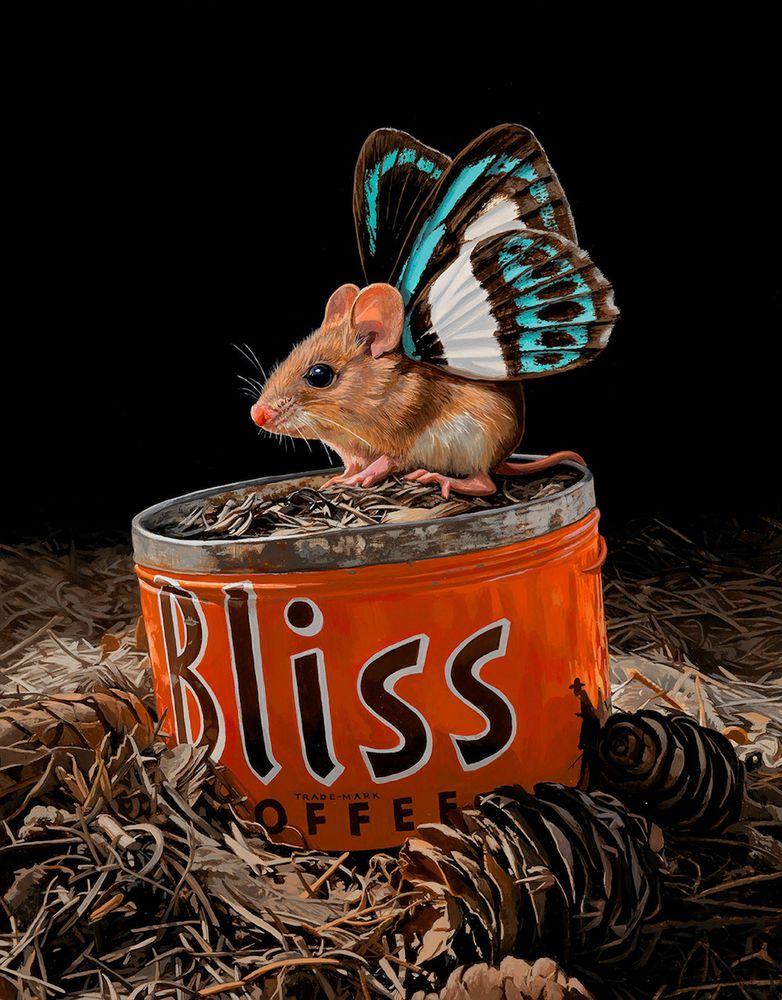 картины с мышами