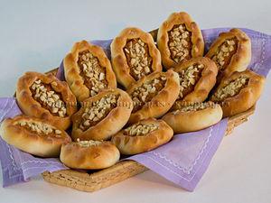 Постные Пирожки с Морковью | Ярмарка Мастеров - ручная работа, handmade