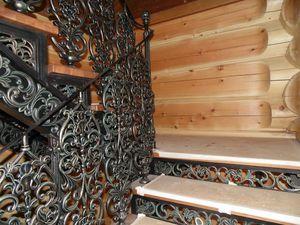 Успешный прект Чугунная лестница в Русском стиле | Ярмарка Мастеров - ручная работа, handmade