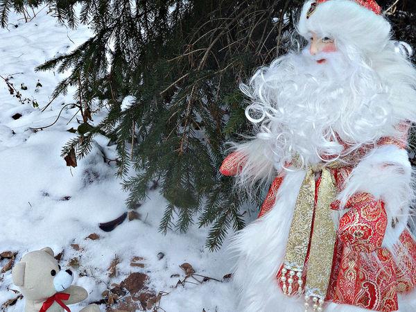 Дед Мороз и Снегурочка | Ярмарка Мастеров - ручная работа, handmade