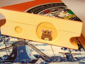 Декорируем шкатулку «Кусочек сыра». Ярмарка Мастеров - ручная работа, handmade.