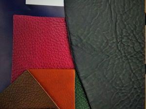 Варианты кожи  для наших изделий. Ярмарка Мастеров - ручная работа, handmade.