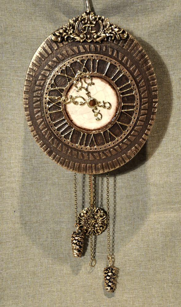 Создаем сказочные декоративные часы для большой елки, фото № 34