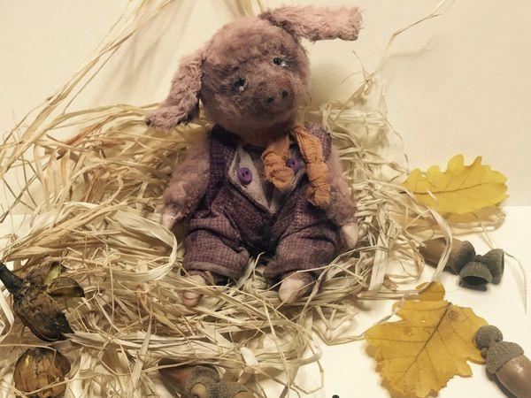 Поросенок Борька | Ярмарка Мастеров - ручная работа, handmade