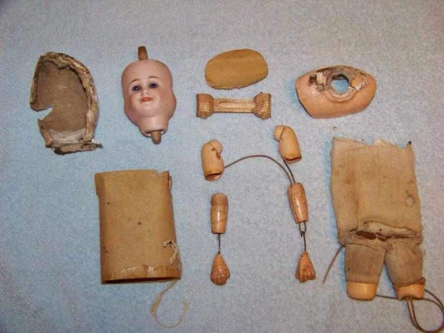 Реставрация антикварной куклы