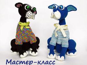 А вы уже вяжете собачек к Новому 2018 году?. Ярмарка Мастеров - ручная работа, handmade.