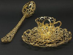 Совершенство формы без содержания: ювелирная посуда Wiebke Maurer. Ярмарка Мастеров - ручная работа, handmade.