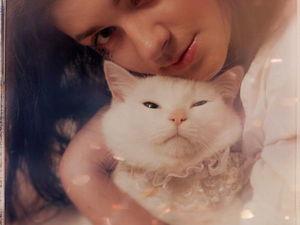 Кот попросил новую аватарку по сезону ). Ярмарка Мастеров - ручная работа, handmade.