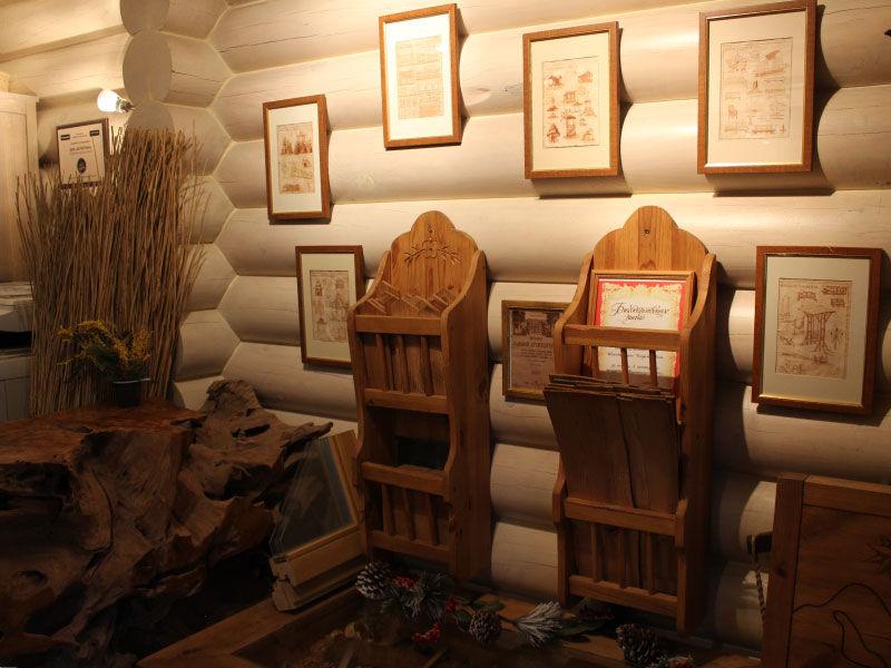 макет, деревянная мебель