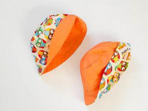 Распродажа Часть 1. двухсторонние панамы по 350 руб. Ярмарка Мастеров - ручная работа, handmade.