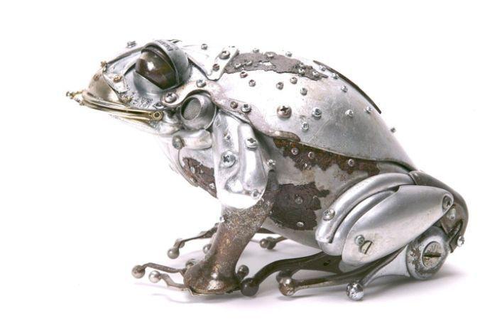 Животные из металла французского скульптора Edouard Martinet, фото № 11