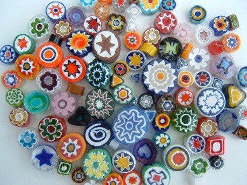 пластика, запекаемая пластика, чешуя, полимерная глина, бижутерия из пластики, мастер-класс