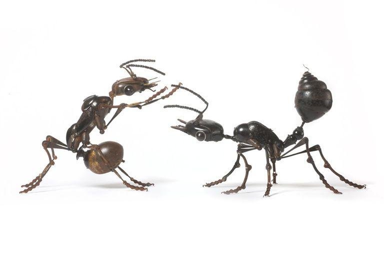 Животные из металла французского скульптора Edouard Martinet, фото № 8