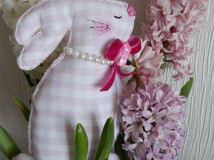 Шьем текстильных зайчиков для пасхального декора. Ярмарка Мастеров - ручная работа, handmade.