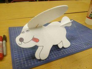 Делаем из пенопласта Вуффи — летающую собаку. Ярмарка Мастеров - ручная работа, handmade.
