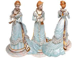 """Неповторимый Franklim Mint! Фарфоровая статуэтка """"Мадам Оленска"""". Ярмарка Мастеров - ручная работа, handmade."""