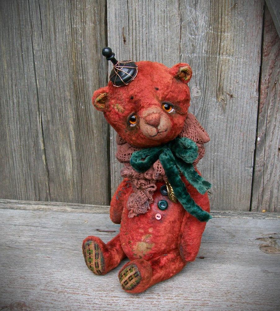 мишка в подарок, старинные вещи