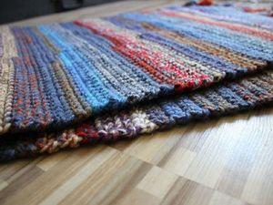 Аукцион с нуля на коврик-дорожку.. Ярмарка Мастеров - ручная работа, handmade.