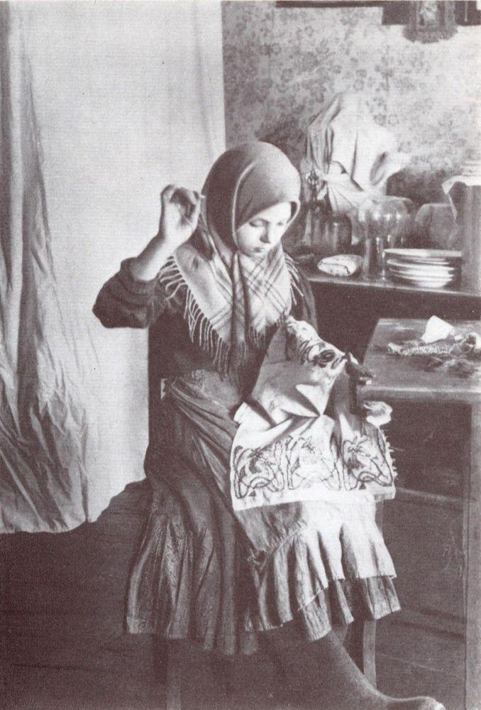 рукоделие, старинная вышивка