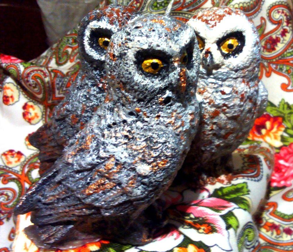 свеча-сова, купить сову статую, сова мудрая, мудрая сова статуя, купить сову статтку, сова для учения