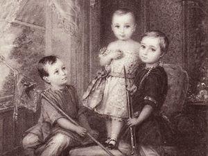 Чем играли дети русских царей, или Влияние игрушки на мировоззрение будущих правителей. Часть первая. Ярмарка Мастеров - ручная работа, handmade.