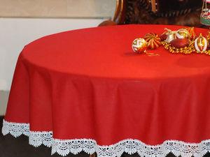 Новогодняя скатерть. Ярмарка Мастеров - ручная работа, handmade.