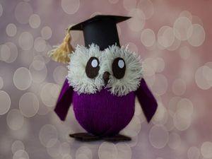 Делаем сову из киндер-сюрприза: видеоурок. Ярмарка Мастеров - ручная работа, handmade.