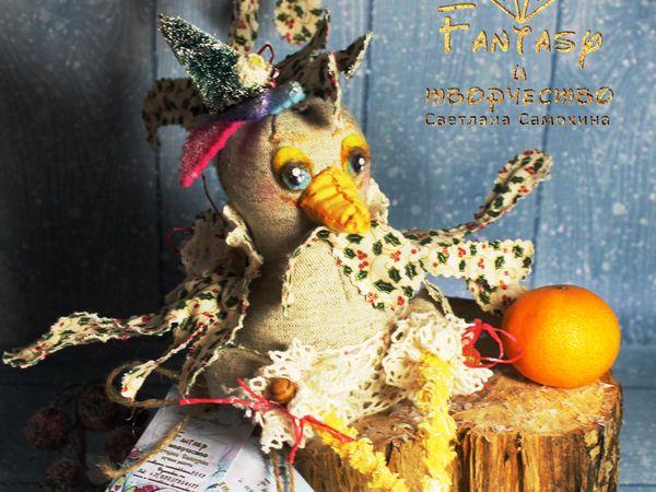 Петушок Любимец. Игрушка текстильная интерьерная. | Ярмарка Мастеров - ручная работа, handmade