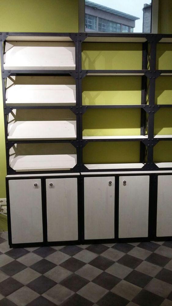 стеллажи, мебель лофт, заказать стеллаж лофт