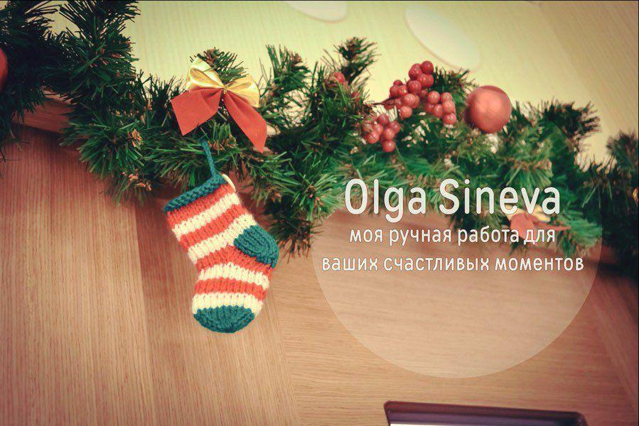 ёлочные украшения, новогодние сувениры, носочки на елку