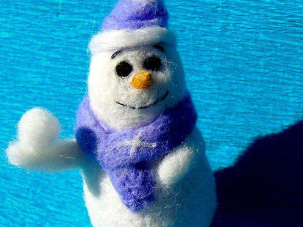 Вебинар валяние новогодней игрушки | Ярмарка Мастеров - ручная работа, handmade